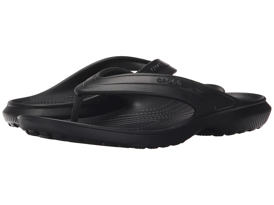 Crocs - Classic Flip (Black) Slide Shoes