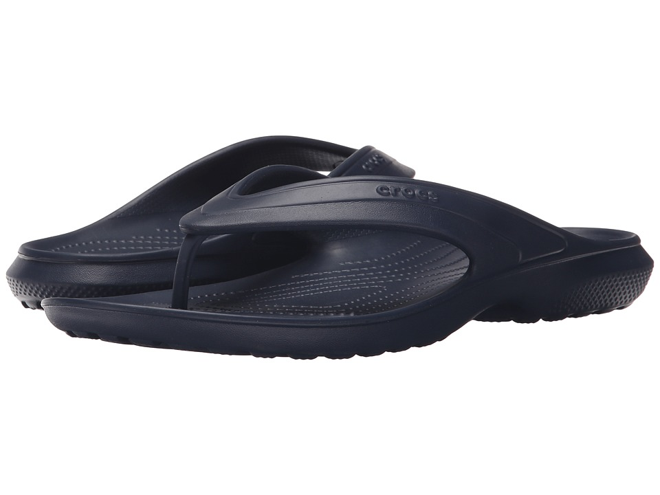 Crocs - Classic Flip (Navy) Slide Shoes