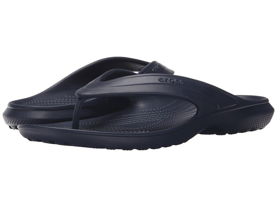 Crocs Classic Flip (Navy) Slide Shoes