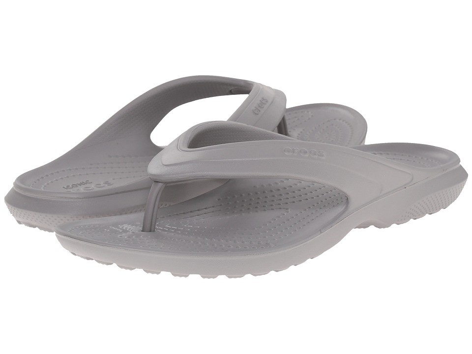 Crocs - Classic Flip (Smoke) Slide Shoes