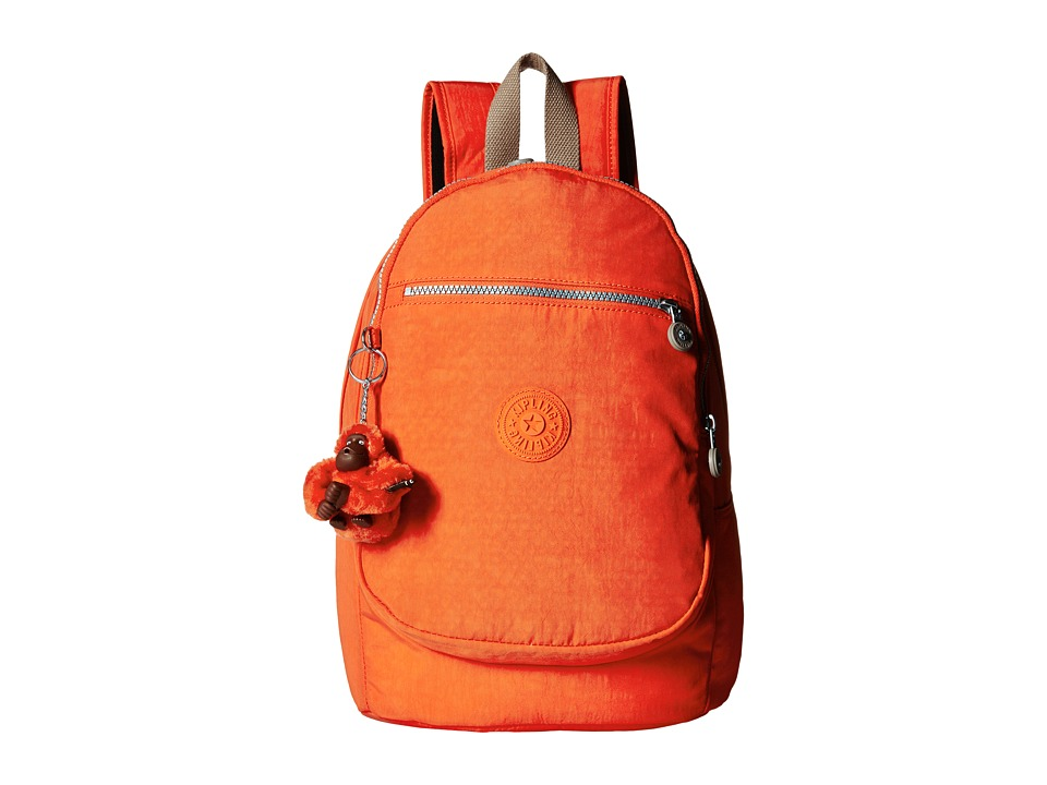 Kipling - Challenger II Backpack (Imperial Orange Chestnut Combo) Backpack Bags