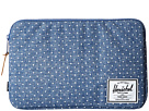 Herschel Supply Co. Anchor Sleeve 11 (Limoges Crosshatch/White Polka Dot)