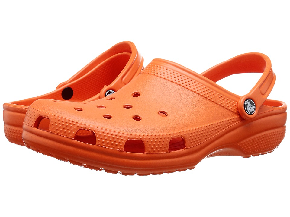 Crocs Classic Clogs (Tangerine 1)