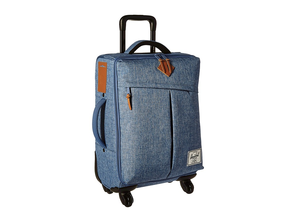 Herschel Supply Co. - Highland (Limoges Crosshatch/Tan Leather) Carry on Luggage