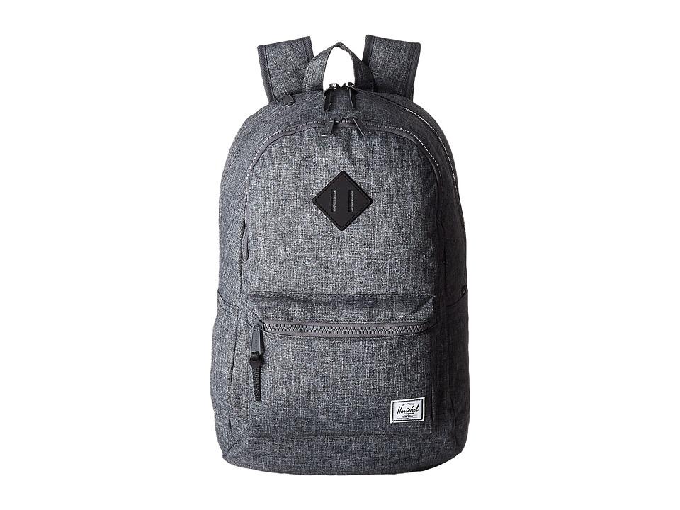 Herschel Supply Co. - Lennox (Raven Rosshatch/Black Rubber) Backpack Bags