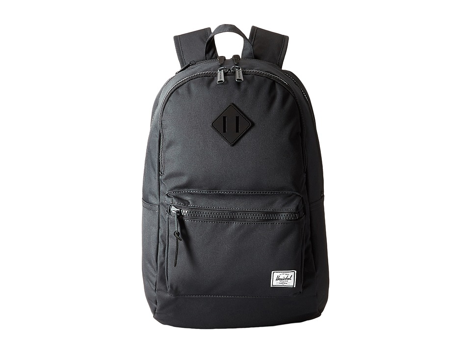 Herschel Supply Co. Lennox Dark Shadow/Black Rubber Backpack Bags