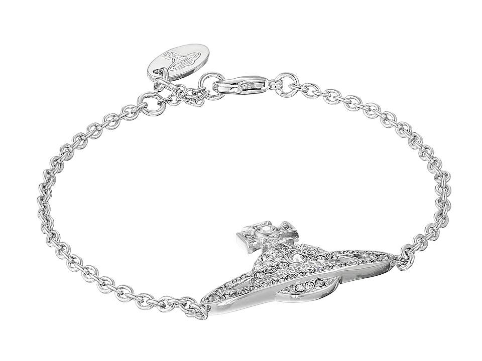 Vivienne Westwood Kika Bracelet Crystal/Black Diamond Bracelet