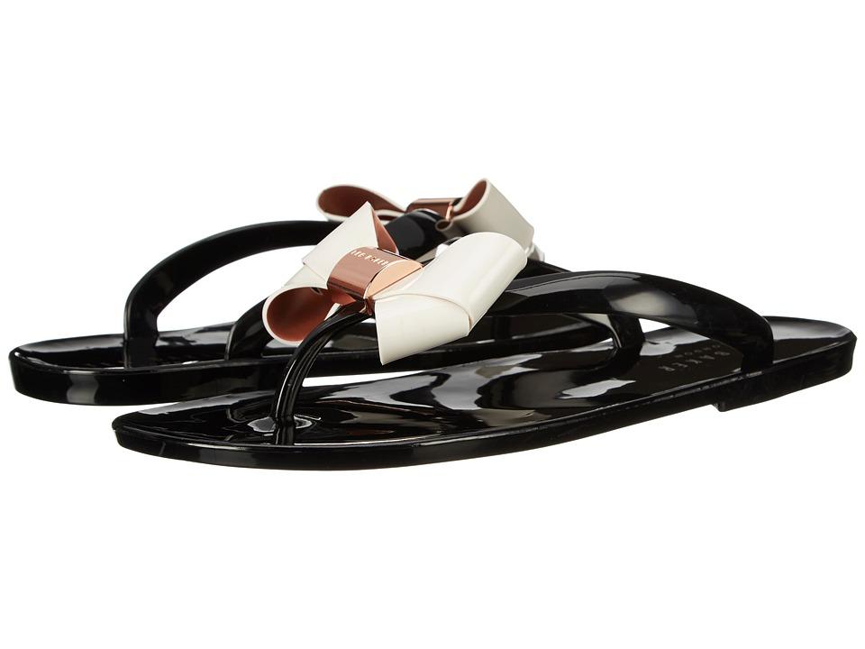 Ted Baker Ettiea Black/Cream Womens Shoes