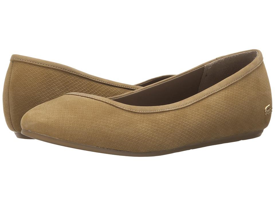 Lacoste Cessole Tan Womens Flat Shoes