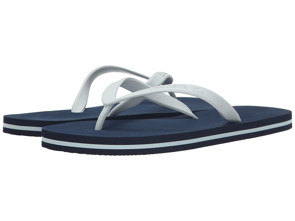 Lacoste Ancelle Slide Navy/Light Blue Womens Sandals
