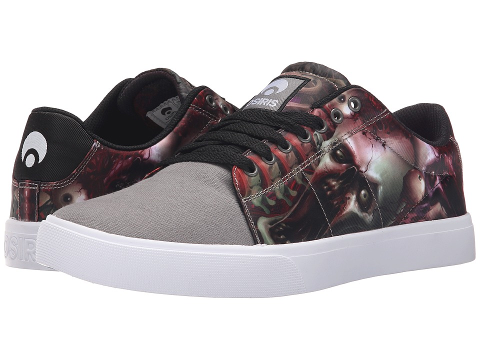 Osiris - Rebound VLC (Huit) (Grey/Black/Zombie) Men