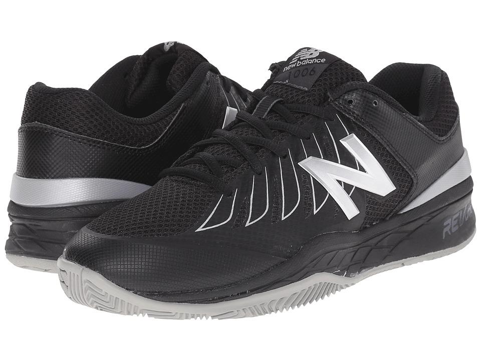 New Balance - MC1006v1 (Black/Silver) Mens Tennis Shoes