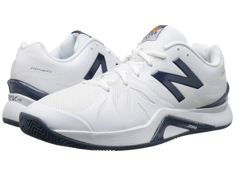 New Balance - MC1296v2 (White/Blue) Mens Tennis Shoes