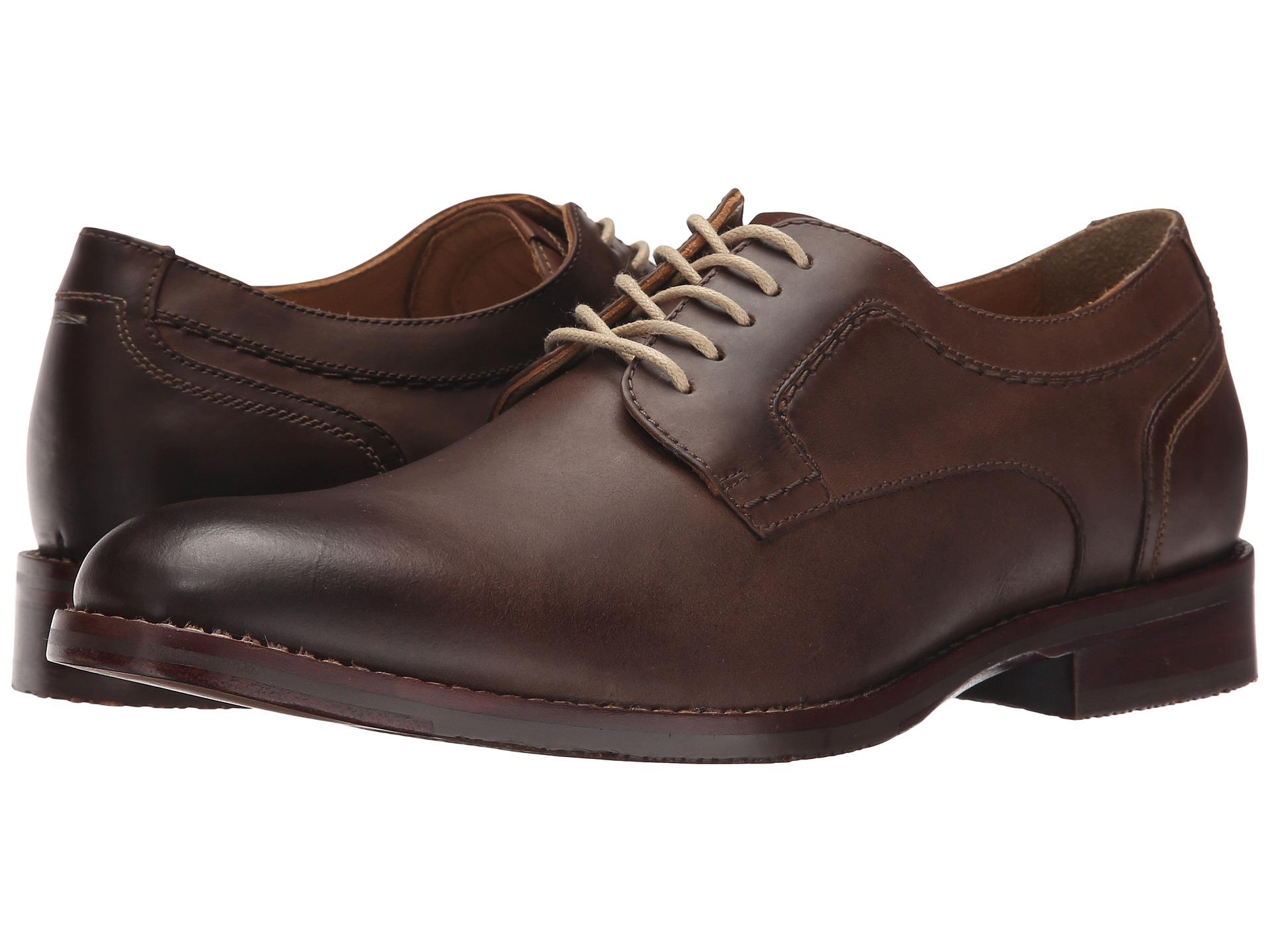 Johnston Murphy Garner Plain Toe Shoes