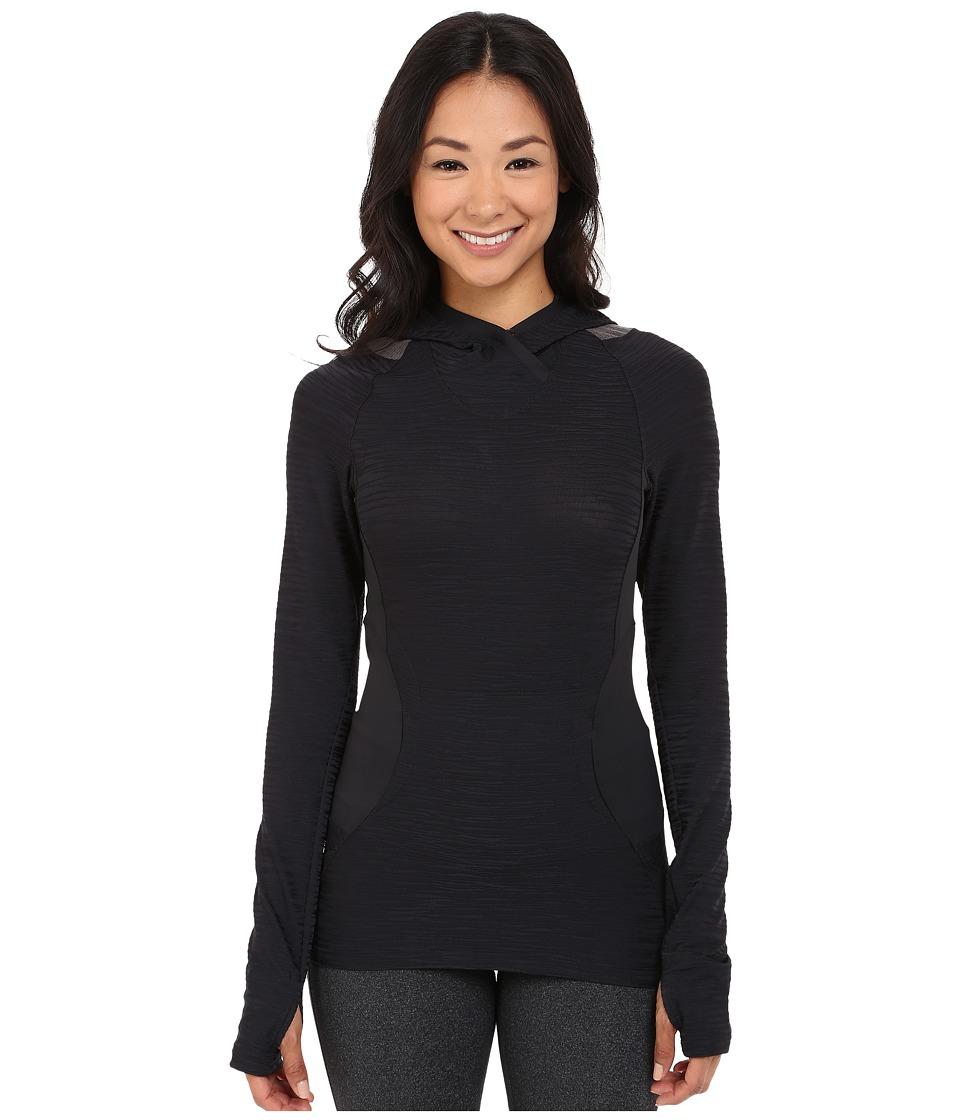 Pearl Izumi Flash Hoodie Black/Shadow Grey Womens Sweatshirt