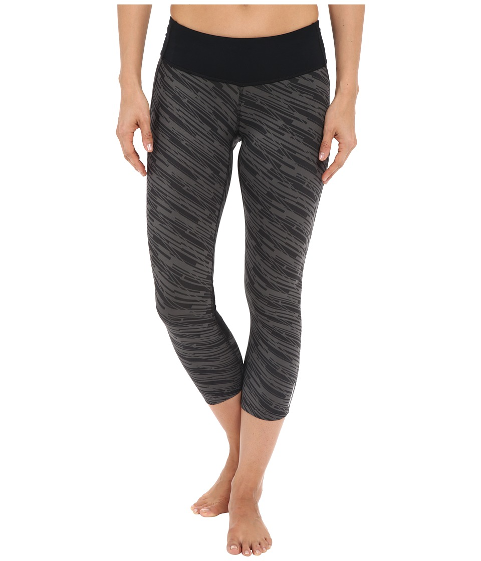 Pearl Izumi Flash 3/4 Print Tights Black/Shadow Grey Print Womens Casual Pants