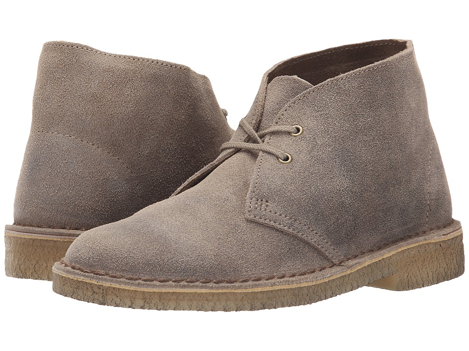 Clarks Desert Boot (Taupe Distressed) Women's Lace-up Boots