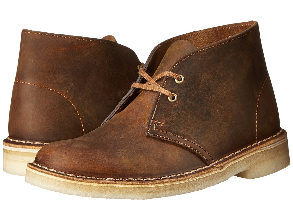 Clarks Desert Boot Beeswax Leather 2 Womens Lace up Boots