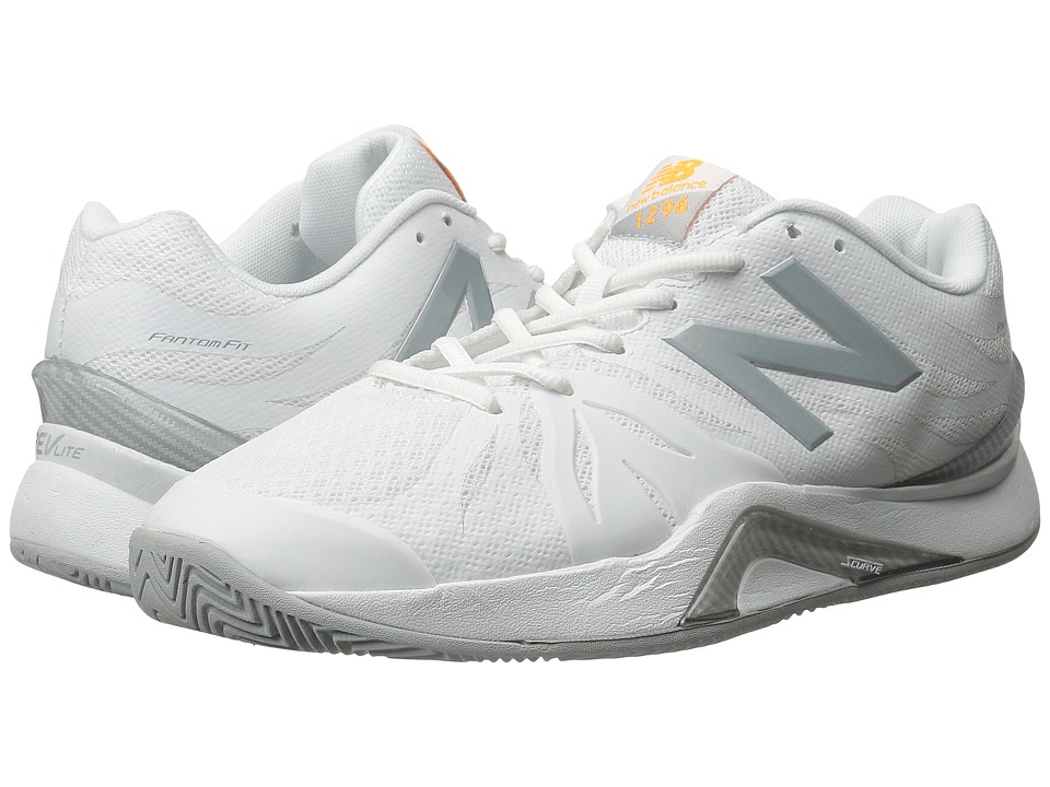 New Balance WC1296v2 (White/Grey) Women's Tennis Shoes