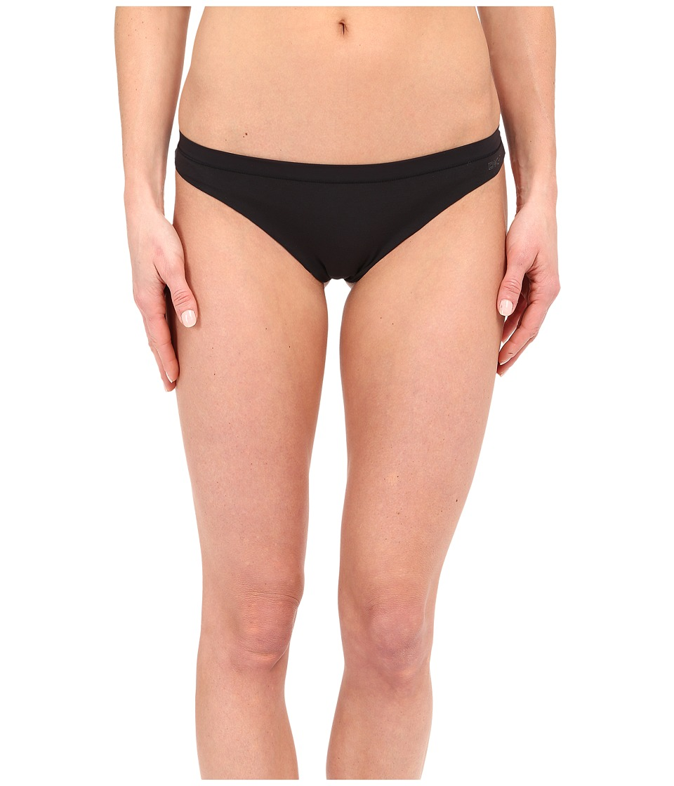 DKNY Intimates Cotton No VPL Thong Black Womens Underwear