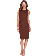 Anne Klein - Milano Stretch Asymetrical Side Drape Dress with Lame