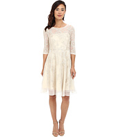 Tahari by ASL - 3/4 Sleeve Lace Embroidered Fit & Flare