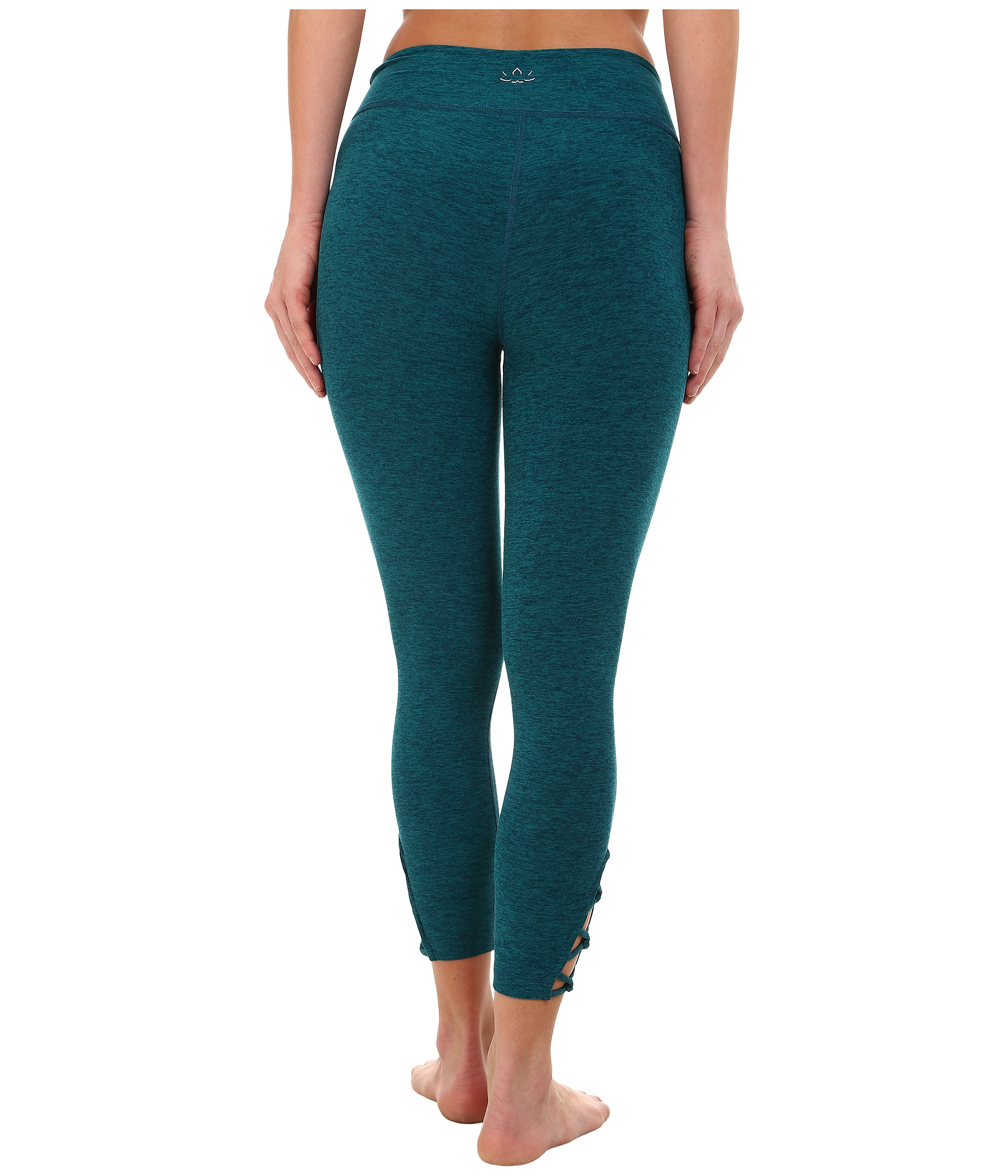 Beyond Yoga Interloop Leggings Mosaic Blue/Teal - Zappos.com Free Shipping BOTH Ways