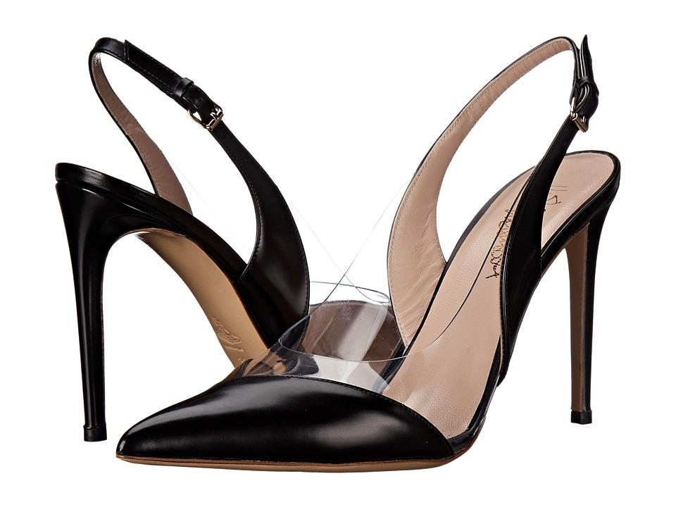 Vivienne Westwood - Caruska Slingback (Black/Clear) High Heels