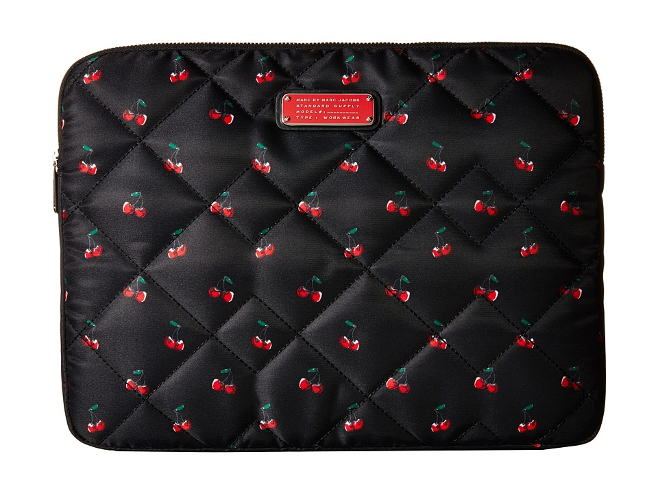 Marc by Marc Jacobs Crosby Quilt Fruit Tech 13 Computer Case Cherry Print Computer Bags