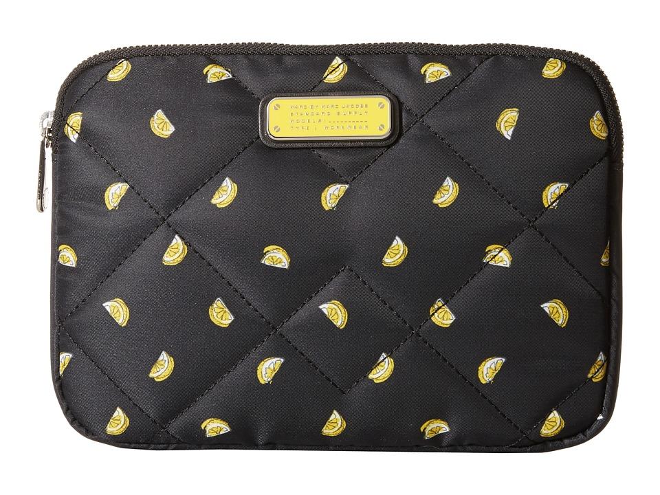 Marc by Marc Jacobs Crosby Quilt Fruit Tech Mini Tablet Case Lemon Print Computer Bags