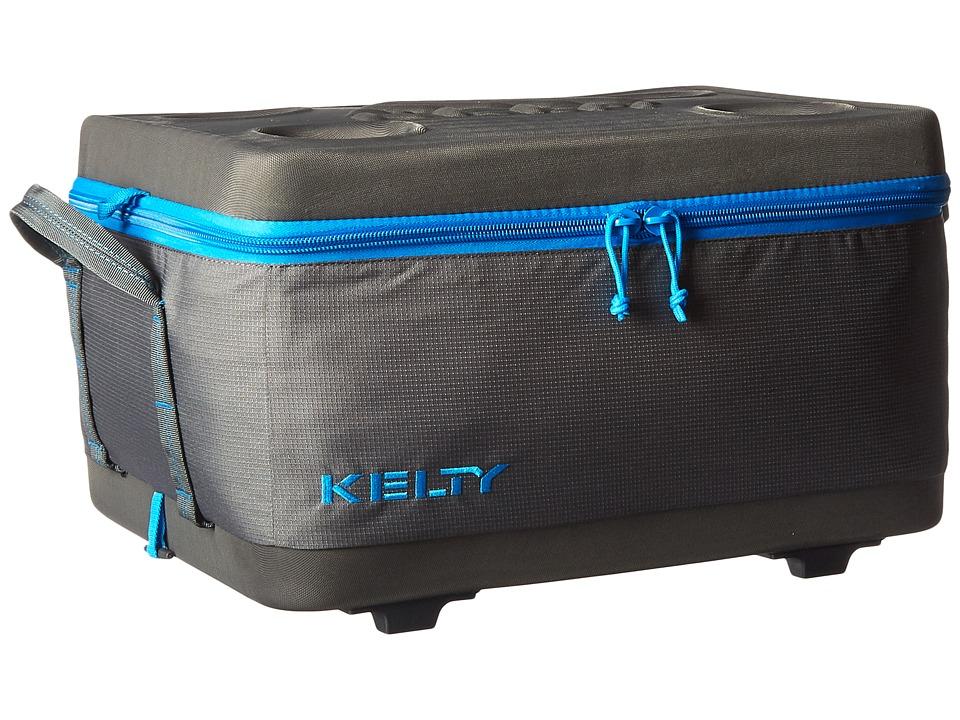 Kelty Folding Cooler Large Smoke/Paradise Blue Outdoor Sports Equipment