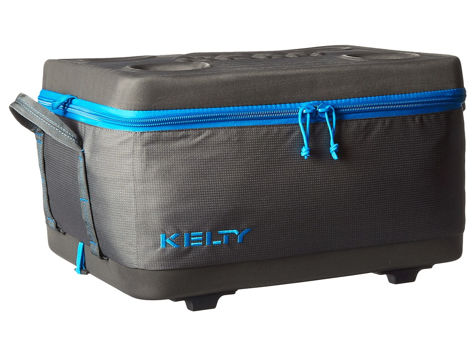 Kelty Folding Cooler Medium Smoke/Paradise Blue Outdoor Sports Equipment