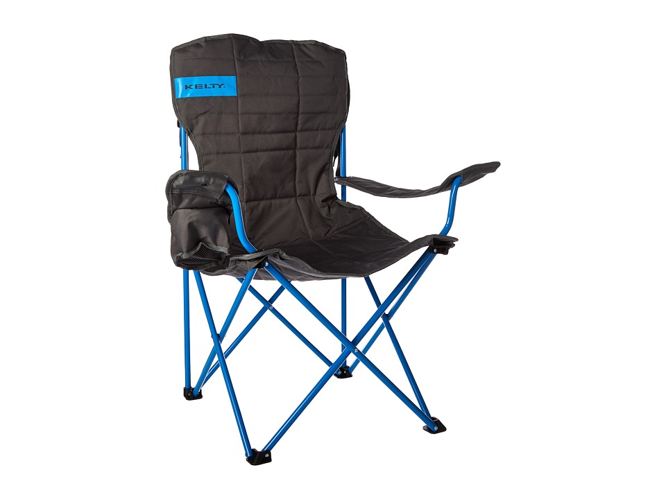 Kelty Essential Chair Smoke/Paradise Blue Outdoor Sports Equipment