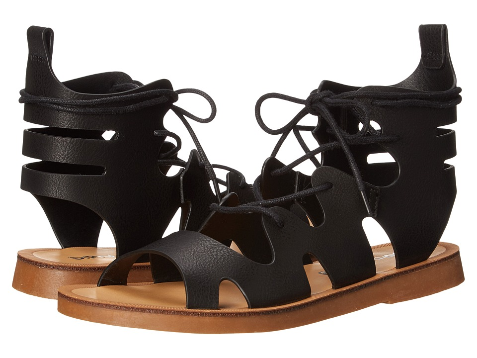 Dirty Laundry Bevelled Lace Up Sandal Black Womens Sandals