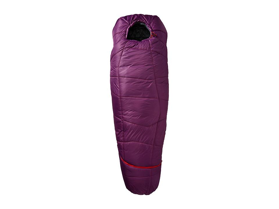 Kelty - Tru.Comfort 20 Degree Sleeping Bag (Grape Juice/Fire Orange) Outdoor Sports Equipment