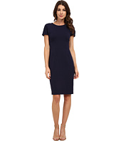 Anne Klein - Topstitch Cap Sleeve Dress