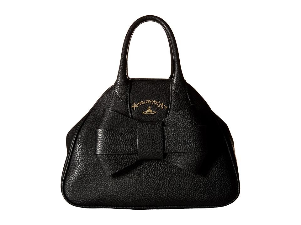 Vivienne Westwood - Braccialini Bow Bags Handbags (Black) Handbags
