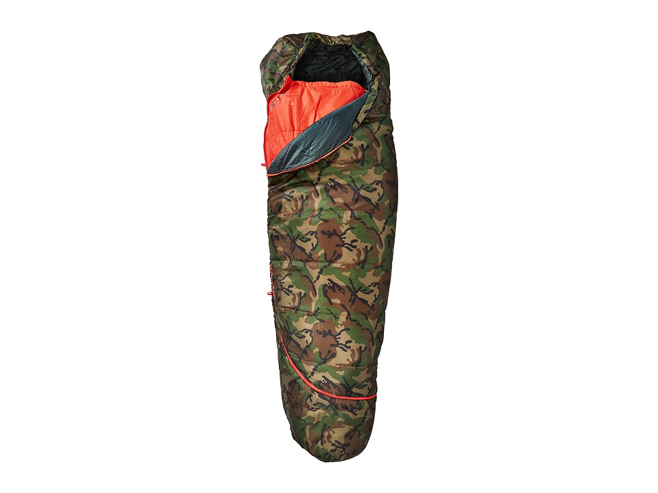 Kelty Tru.Comfort 20 Degree Sleeping Bag (Camo/Fire Orang...