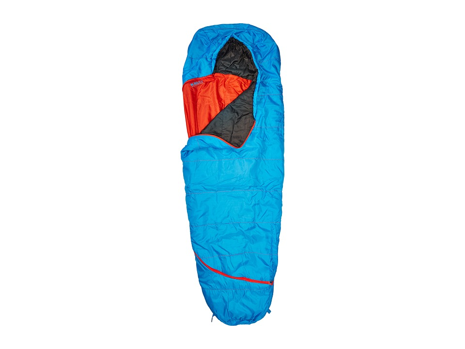 Kelty - Tru.Comfort 35 Degree Sleeping Bag (Paradise Blue/Fire Orange) Outdoor Sports Equipment