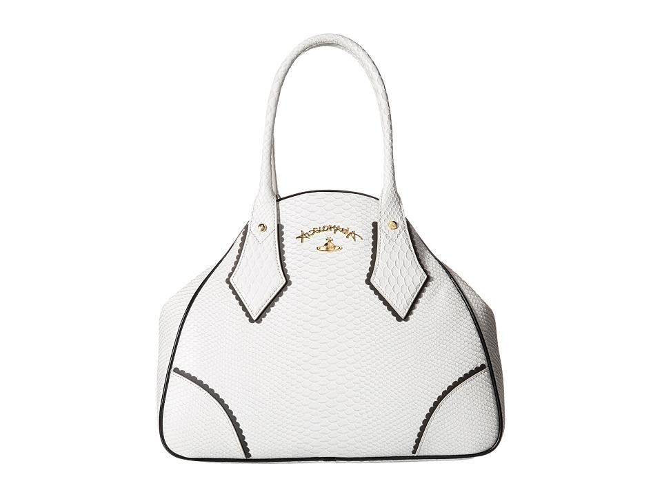 Vivienne Westwood - Braccialini Frilly Snake It Bag (Grey) Satchel Handbags