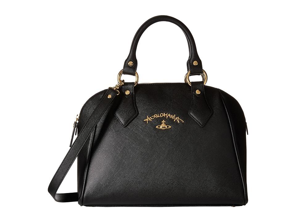 Vivienne Westwood Braccialini Divina Bags Bugatti Black Satchel Handbags