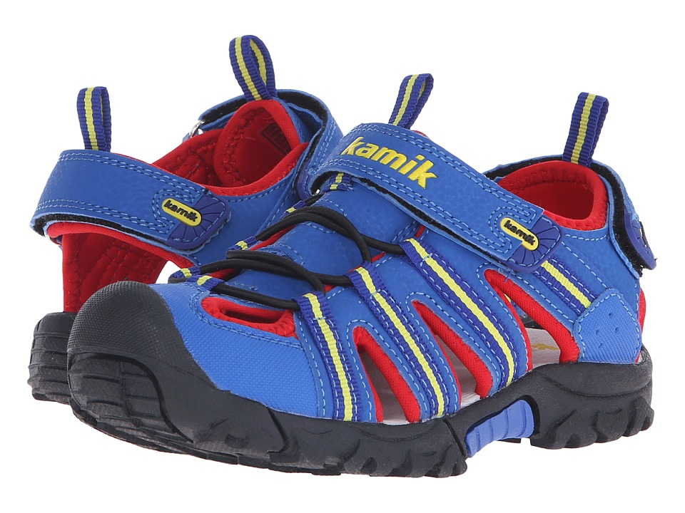 Kamik Kids Iguana Little Kid/Big Kid Royal Blue Boys Shoes