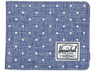 Herschel Supply Co. Hank (Limoges Crosshatch/White Polka Dot/Tan Pebbled Synthetic Leather)