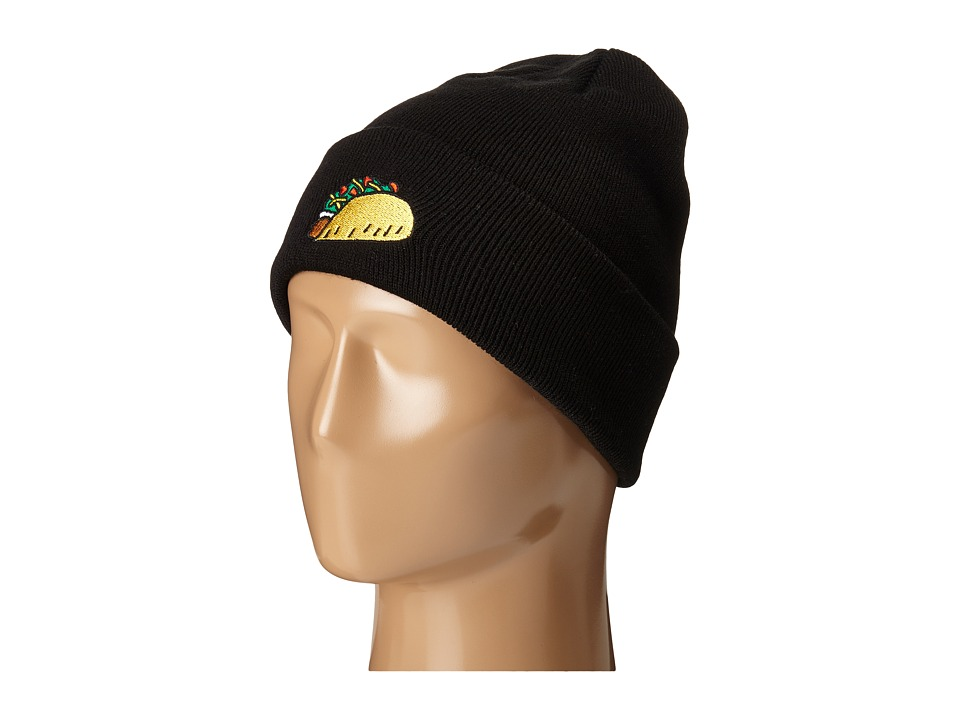 Coal The Crave Black Taco Beanies