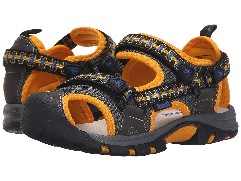 Kamik Kids Jetty Little Kid/Big Kid Charcoal Kids Shoes