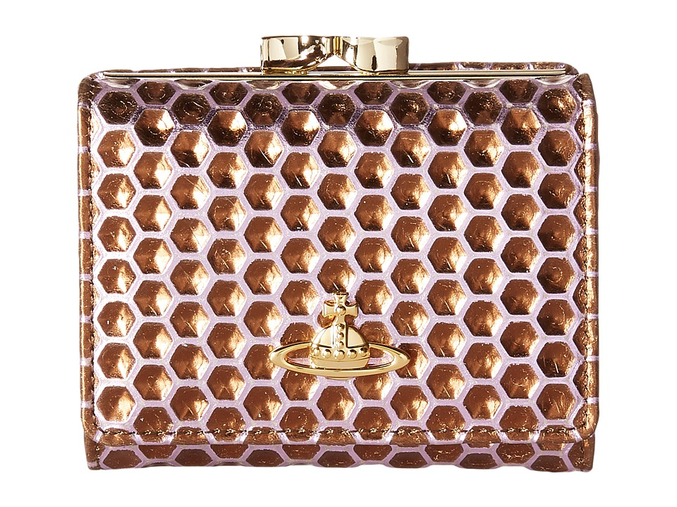 Vivienne Westwood - Braccialini Honey Comb Wallet (Viola) Wallet Handbags