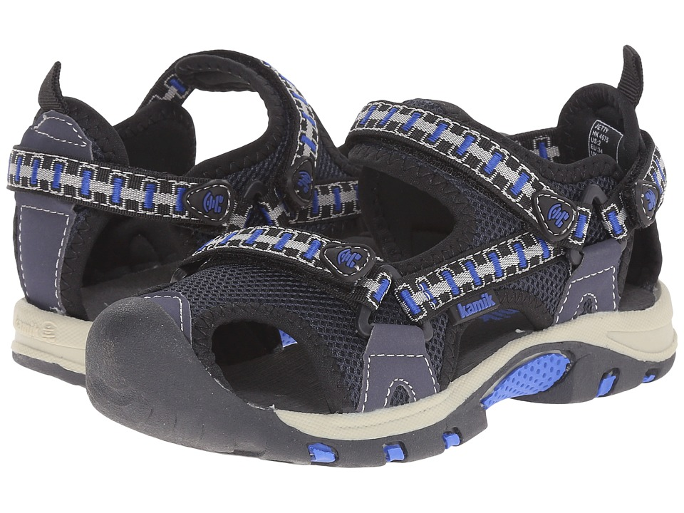 Kamik Kids Jetty 2 Little Kid/Big Kid Navy Boys Shoes