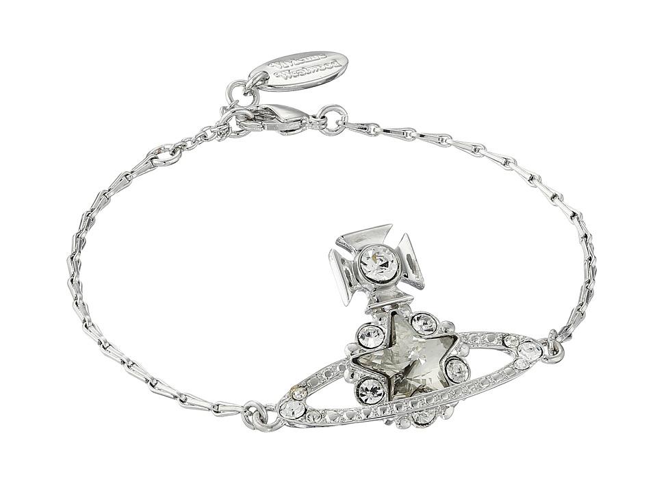 Vivienne Westwood - Astrid Bracelet (Crystal/Silver) Bracelet