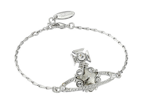 Vivienne Westwood Astrid Bracelet - Crystal/Silver