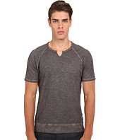 John Varvatos Star U.S.A. - Short Sleeve Raglan Knit Crew Neck K2513R4B